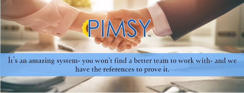 PIMSY electronic records system for mental health